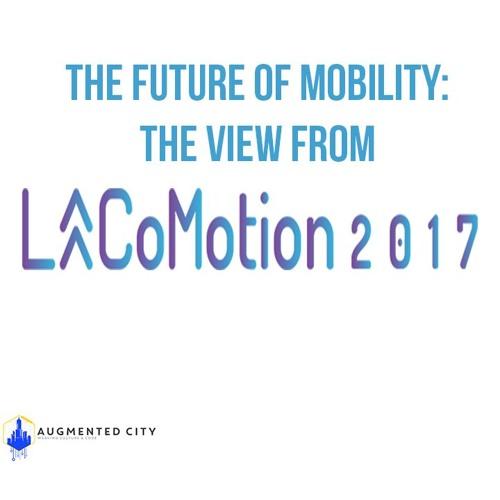 AC @ LACoMotion Augmented Bikes & Logistics with SuperPedestrian's Assif Biderman