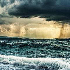 Rain & Ocean Waves Storm Sounds for Sleep (75 Minutes)