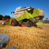 Sound of Essen -14 - Harvester Claas Lexion 530 - Harvesting Away - Stereo AB QTC50