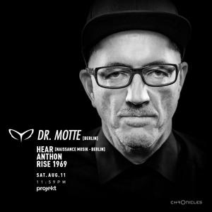 Dr. Motte @ Projekt, Beirut 2018-08-11 Artwork