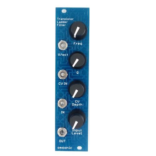 omsonic Transistor Ladder Filter DIY Kit Demo Audio