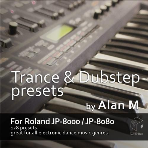 Roland JP8000 & JP8080 Trance / EDM Soundset Rev2