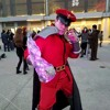 Its the fearless m.bison on the trumpet getting ready to blow