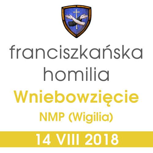 Homilia: Wniebowzięcie NMP (Wigilia) - 14 VIII 2018