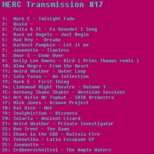 MERC Transmission 17