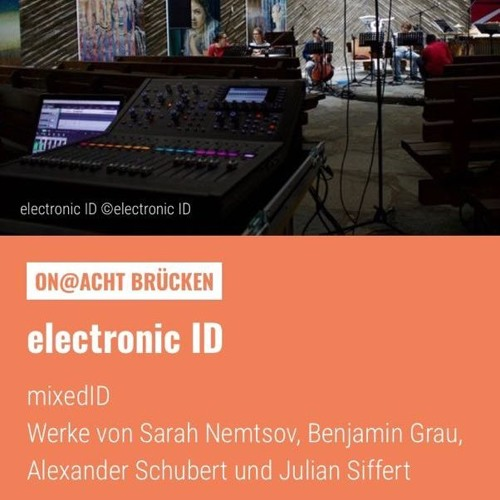 electronicID@ACHTBRÜCKEN - Sarah Nemtsov: Journal. Produziert durch WDR
