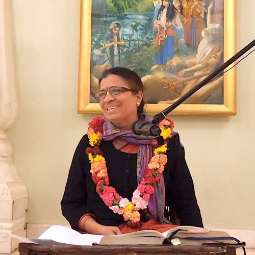 Srimad Bhagavatam class on Thu 9th Aug 2018 by Chandra Vallabhi Devi Dāsi 4.12.40