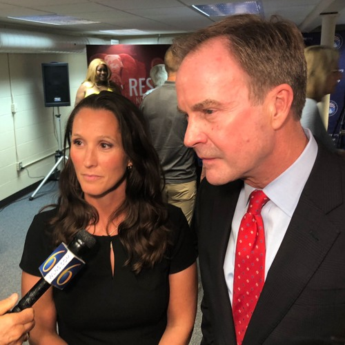 Bill Schuette and Lisa Posthumus Lyons on her support for President Trump