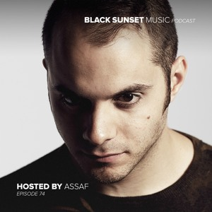 Assaf - Black Sunset Music Podcast 074 2018-08-15 Artwork
