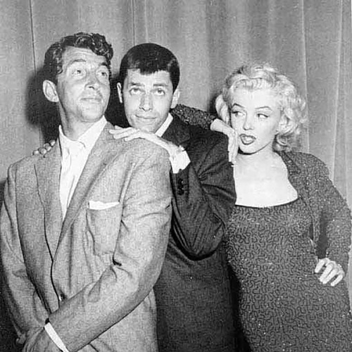 Dean Martin & Jerry Lewis with Guest Marilyn Monroe—02.24.1953