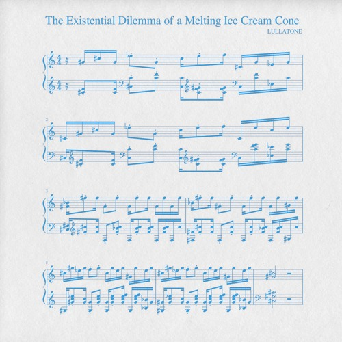 the existential dilemma of a melting ice cream cone (piano version)