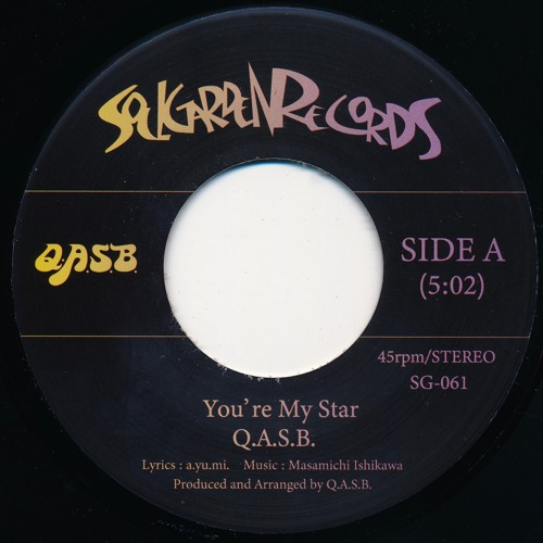 [SG-061] (Side A) Q.A.S.B. - You're My Star