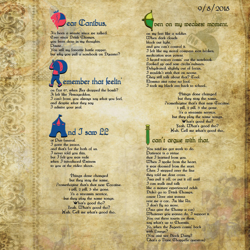 Letter to Canibus - Wyclef Jean and Canibus Featuring Phern