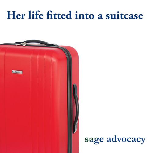 Sage Advocacy Red Suitcase Bibiana Savin