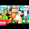 "♫ ""LUCY"" - Minecraft Parody Of FEFE By 6ix9ine  Nicki Minaj (Music Video) ♫ (By MooseCraft)"