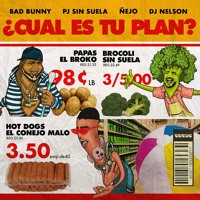 Cover mp3 BAD BUNNY FT PJ SIN SUELA FT ÑEJO - CUAL ES TU PL