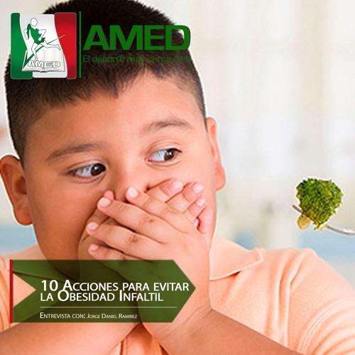 Podcast 208 AMED - 10 Acciones Para Evitar La Obesidad Infantil