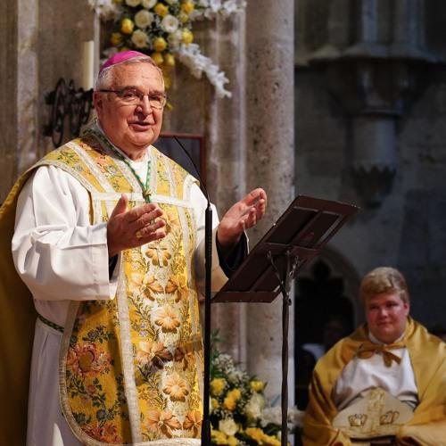 Diakonenweihe 2018 - Weihbischof Erzabt emeritus Varszegi