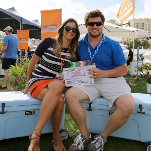 Jackie Guenther Denison Yachts Palm Beach Boat Show 2017 Between Two Yetis Audio