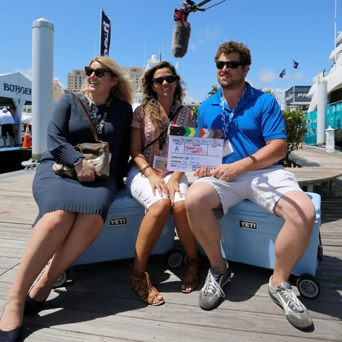 Charline Francis and Sacha Williams Camper and Nicholsons Palm Beach Boat Show Between Two Yeti's