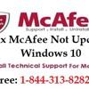 How to Fix McAfee Not Updating Windows 10 Error?