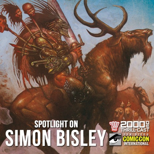 Spotlight on Simon Bisley at SDCC 2018