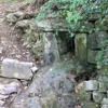 The source of Pigeonhouse Stream, drought