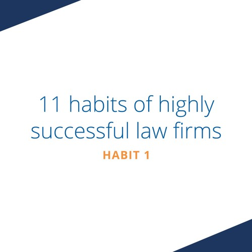 Habit One - They decide to be efficient