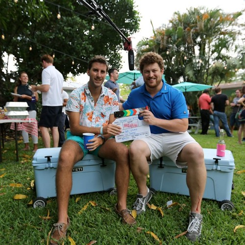 Alex Duke Fraser Yachts Zeidels Crew Party 2017 Between Two Yetis