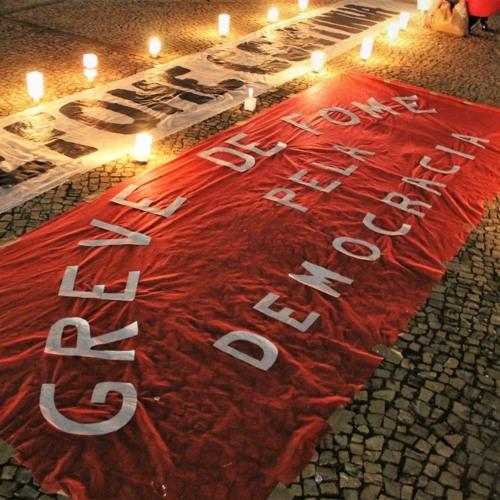 Em greve de fome, Jaime Amorim demonstra confiança na luta contra o golpe