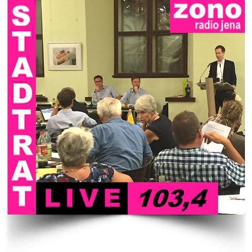 Hörfunkliveübertragung (Teil 1) der 46. Sitzung des Stadtrates der Stadt Jena am 22.08.2018