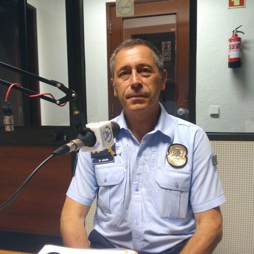 Inspector António Cunha e Silva, do SEF, no programa da CPSI