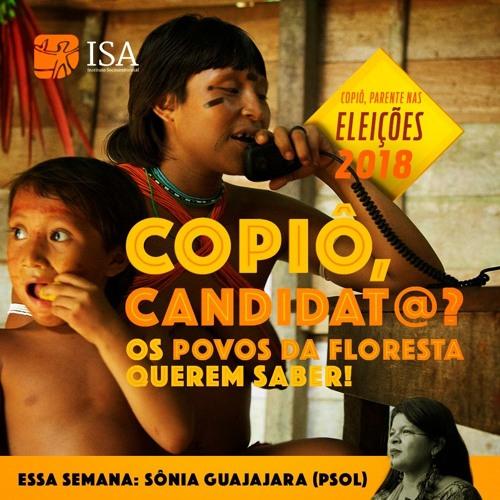 Copiô, candidato - Guilherme Boulos e Sônia Guajajara (Copiô 67)