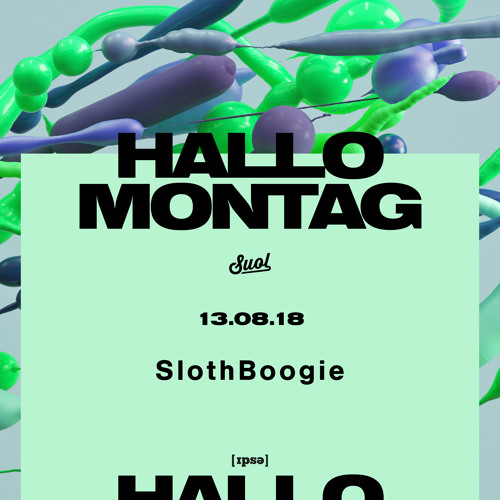 SlothBoogie @Hallo Montag Open Air #16 (13.08.2018)