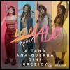 Aitana Ft Ana Guerra, Greeicy & TINI - Lo Malo (Remix)
