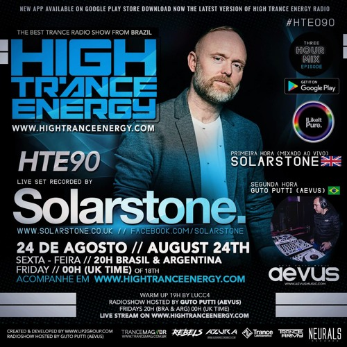 Guto Putti (Aevus) Pres. High Trance Energy 090 Solarstone (First hour) // Aevus second hour
