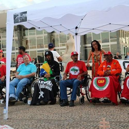 Grande ato de solidariedade marca o 26º dia de greve de fome