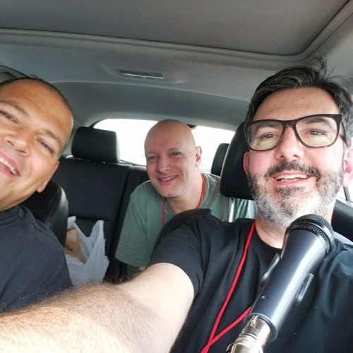 Descendents eat tacos in a Mazda at 350 Fest