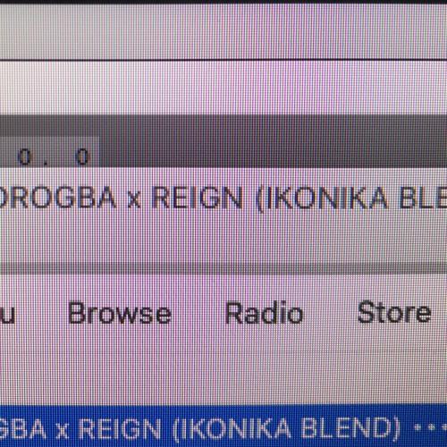 AFRO B X HHB - DROGBA X REIGN (IKONIKA BLEND)