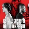 KSI VS. LOGAN PAUL Fight, And  DEJI VS. JAKE PAUL Fight- Crazykin podcasts# 2