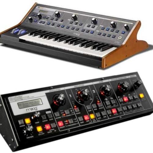 Moog Slim & Little Phatty Alan-M Trance / EDM Soundset