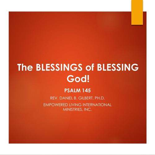The BLESSINGS OF BLESSING God