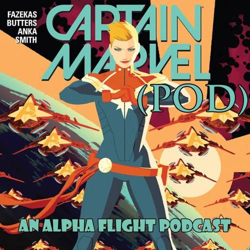 29 Alpha Pod Flight Captain Marvel 1 and 2 Bill Hopkins