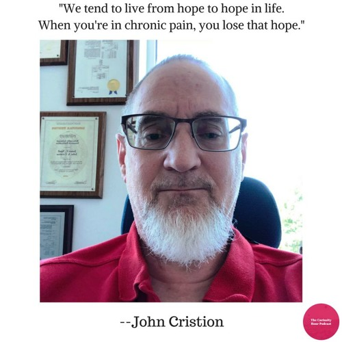 Episode 70 - John Cristion (The Curiosity Hour Podcast by Dan Sterenchuk and Tommy Estlund)