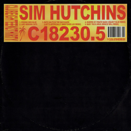 Premiere: Sim Hutchins - Baby You'a Drug (Renick Bell Remix)
