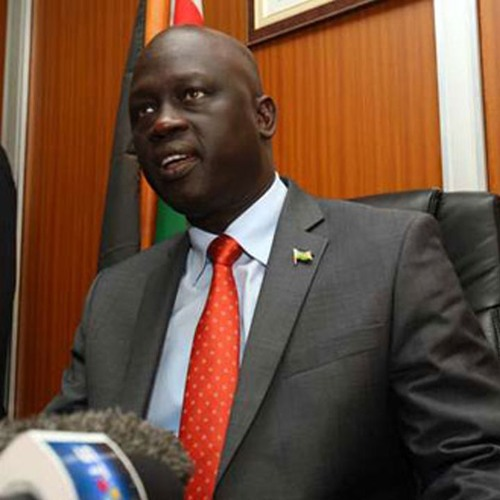 Interview with #SouthSudan Ambassador to Kenya Chol Ajongo