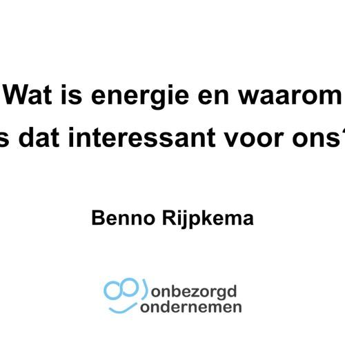 Wat is energie en waarom is dat interessant