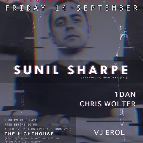 Heart Beat Presents Sunil Sharpe - 14 September 2018