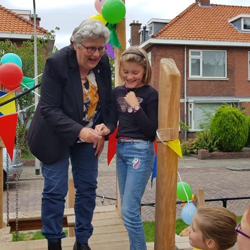 2018-08-29 Officiële opening speelplek Willem de Zwijgerlaan Voorschoten