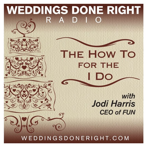 Weddings Done Right Radio - How to pick a venue